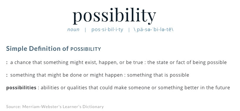 Possibility-Definition_of_Possibility_by_Merriam-Webster