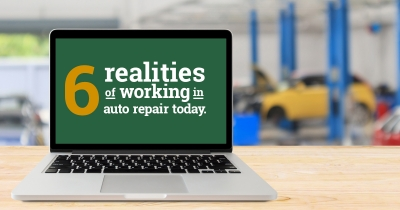 Six realities of working on auto repair today