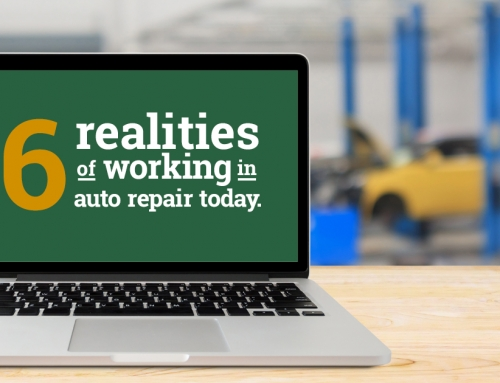 Six Realities of Working in Auto Repair Today
