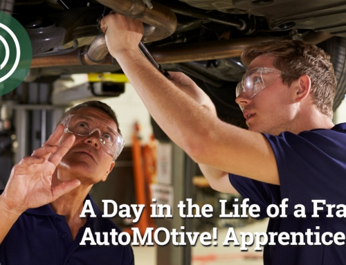 PODCAST: A Day in the Life of a Franklin AutoMOtive! Apprentice