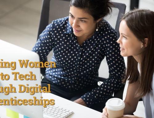 Bringing Women Back to Tech Through Digital Apprenticeships