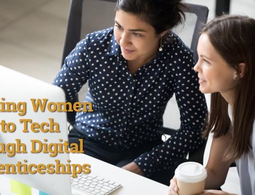 Bringing Women Back to Tech Through Digital Apprenticeships