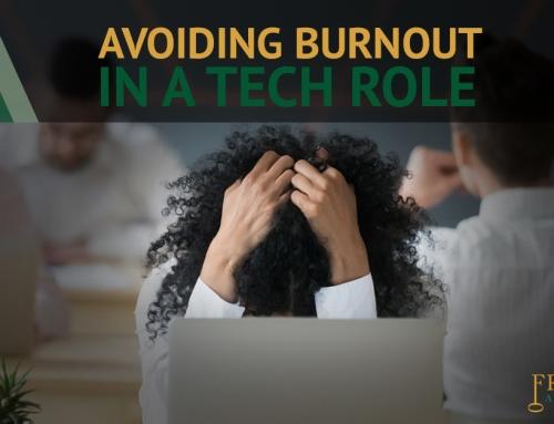 Avoiding Burnout in a Tech Role