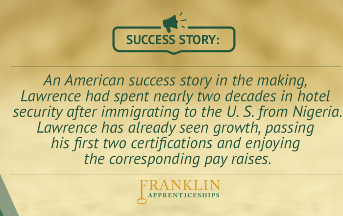 Lawrence Success Story
